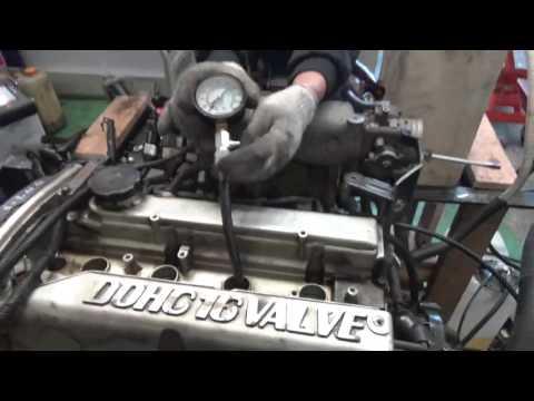 Проверка компрессии двигателя G4JP 1499387 Sonata