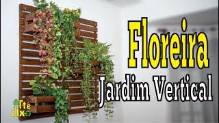 Floreira vertical -  Jardim vertical - Caiú Cacún