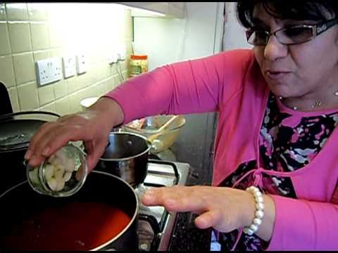 Okra Recipe - How to Cook Assyrian Iraqi Lamb Bamieh with Rice PART 2/2