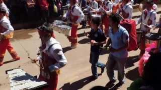 getlinkyoutube.com-Chignahupan Desfile Delfines Marching Band 2013