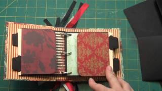 getlinkyoutube.com-3-Ring Mini Scrap Book Flap Pages