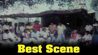 getlinkyoutube.com-THURAL NINNU POCHU Movie: K. Bhagyaraj  Group Discution Scene