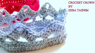 VERY EASY CROCHET CROWN-A