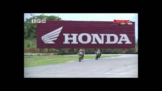 getlinkyoutube.com-FMSCT Thailand Road Racing 2015 สนามที่ 5 / หอมหวลกลิ่น 2T - Underbone 150 cc.