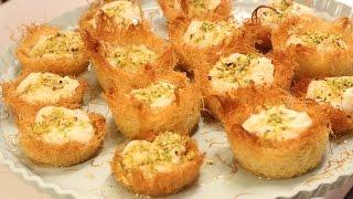 getlinkyoutube.com-مطبخ الاكلات العراقيه -كنافة عِش العصفور