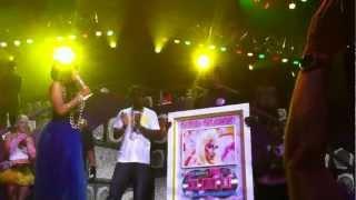 Nicki Minaj reçoit ses disques de platine