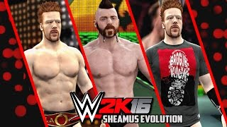 getlinkyoutube.com-WWE 2K16 - Sheamus Entrance Evolution! ( SVR To WWE 2K16 )