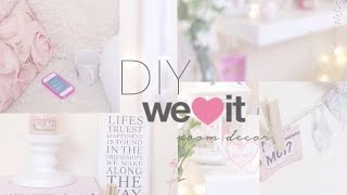 getlinkyoutube.com-♡DIY Weheartit Inspired Room Decor | Floral Princess♡