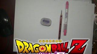 getlinkyoutube.com-Dibujando a: Goku Vs Freezer (Dragon Ball Z Fukkatsu no F)