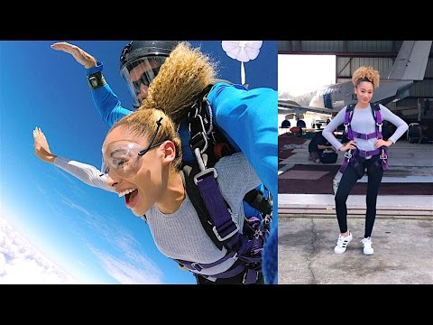 My Experience Going Skydiving?! (New Years' Q&A)