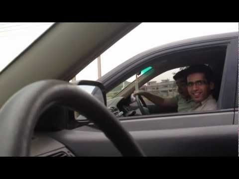 Day k dumra sa nai :P ... Music video of Street Racing in Peshawar, Pakistan- Khyber Medical College