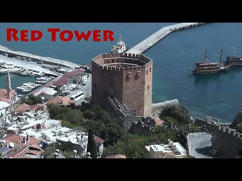 TURKEY: Red Tower (Kizil Kule) - Alanya [HD]