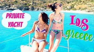 getlinkyoutube.com-Private Yacht Ride | Ios Greece
