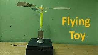 getlinkyoutube.com-How to make a simple flying toy