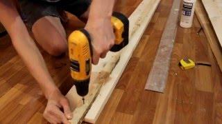 getlinkyoutube.com-Как я кровать делал. Деревянная кровать своими руками.