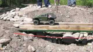 getlinkyoutube.com-Trail Buster 2012 RC Truck Scale Rock Crawling Competition