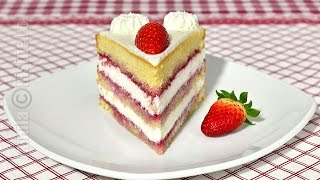 getlinkyoutube.com-Tort cu mascarpone si fructe   Mascarpone & fruits cake (CC Eng Sub)   JamilaCuisine