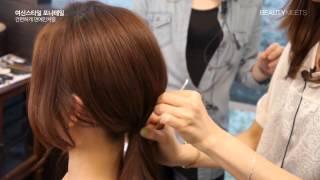 getlinkyoutube.com-[BEAUTYMEETS] 여신스타일 포니테일, 연예인처럼 머리 묶는 법 - 셀프헤어
