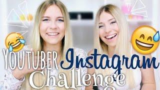 getlinkyoutube.com-YouTuber Instagram CHALLENGE - mit BibisBeautyPalace | Dagi Bee