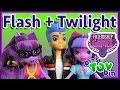 Flash Sentry + Twilight Sparkle Equestria Girls Friendship Games MLP Dolls! Review by Bins Toy Bin