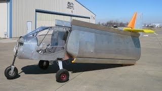 getlinkyoutube.com-Folding Wings Option for storage and trailering: Zenith STOL CH 750 light sport utility kit plane