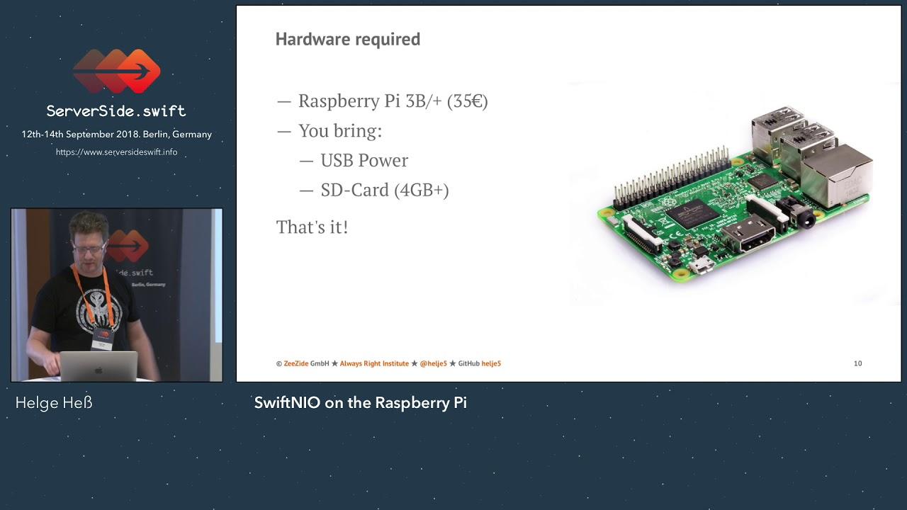 SwiftNIO on the Raspberry PI