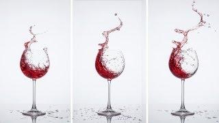 Weinspritzer im Bild festhalten - Blende 8 - Folge 76