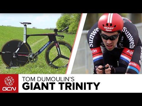 Tom Dumoulin's Giant Trinity Time Trial Bike | Giro D'Italia 2016