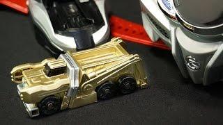 getlinkyoutube.com-金色塗装!仮面ライダー ドライブ シフトテクニック ガチャ版 Kamen Rider Drive Shift Techniques Gold Paint