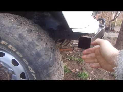 Бампер на УАЗ и маскировка лифта кузова