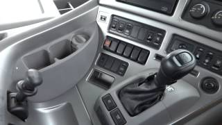 getlinkyoutube.com-中古トラック クオン(Quon) トラクタ 横浜車両工業(YOKOSHA) 内装 GH13 エンジン