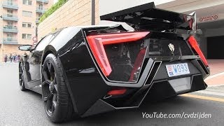 getlinkyoutube.com-$3,4m Lykan Hypersport on the road! + Sound!