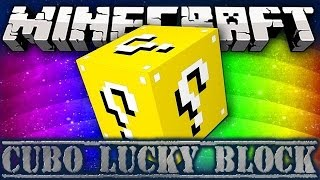 getlinkyoutube.com-Minecraft Cubo Lucky Block #8 - Vendetta! w/ Tech4play JacoRollo