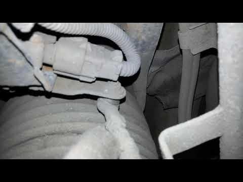 Расположение опор двигателя у Lexus LS460