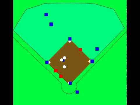 Baseball Defense Positioning Cut4 LF