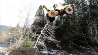 getlinkyoutube.com-Flying Skidder
