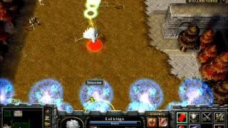 getlinkyoutube.com-Warcraft III The Frozen Throne: Bleach vs One Piece [PART 1]