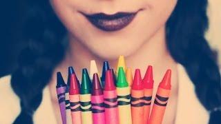 getlinkyoutube.com-DIY: Lipstick out of CRAYONS!