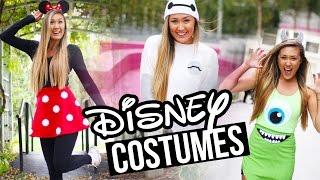 getlinkyoutube.com-DIY DISNEY/PIXAR HALLOWEEN COSTUMES: Baymax, Minnie & Monsters Inc. | LaurDIY