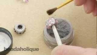 getlinkyoutube.com-How to Make an European Style Large Hole Bead