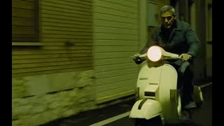 getlinkyoutube.com-Inseguimento Car Chase - The American 2010 - G.Clooney