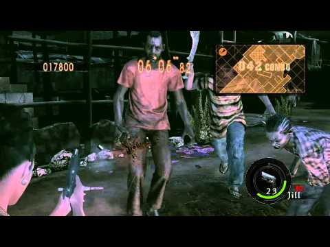 Resident Evil 5 (PC) Mercenaries - Solo - Public Assembly - Combo 150 (Excella)