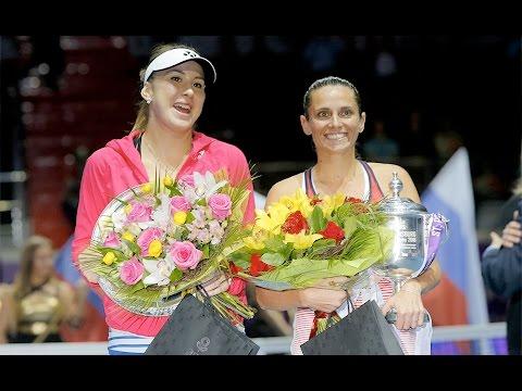 2016 St. Petersburg Ladies Trophy Final WTA Highlights | Roberta Vinci vs Belinda Bencic