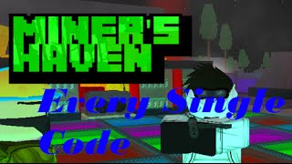 getlinkyoutube.com-Roblox | Miners Haven All Codes! 2Many4U?