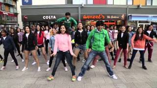 getlinkyoutube.com-UK's Biggest Bollywood Flash Mob in Wembley Central