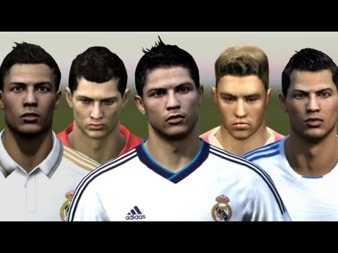 Cristiano Ronaldo from FIFA 04 to 13 | HD 1080p