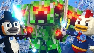 getlinkyoutube.com-Minecraft | LUCKY BLOCK BOSS CHALLENGE - Nuclear Creepito! (Minecraft Roleplay)