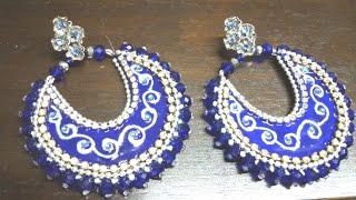 getlinkyoutube.com-1. Chand Bali Earrings Tutorial