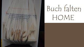 getlinkyoutube.com-Text in ein Buch falten - HOME