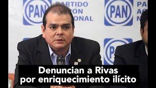 Denuncian a Rivas por enriquecimiento ilícito